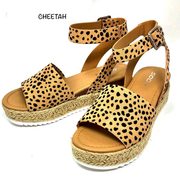 Ccocci - Wedge sandals with straps