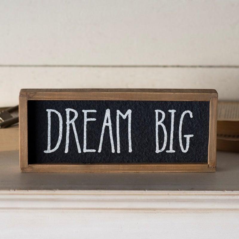 VIP ATL - Wood Frame Dream Big Sign
