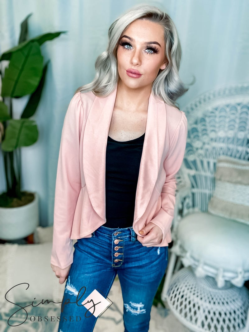 Andree By Unit - Blazer with Open Front Look