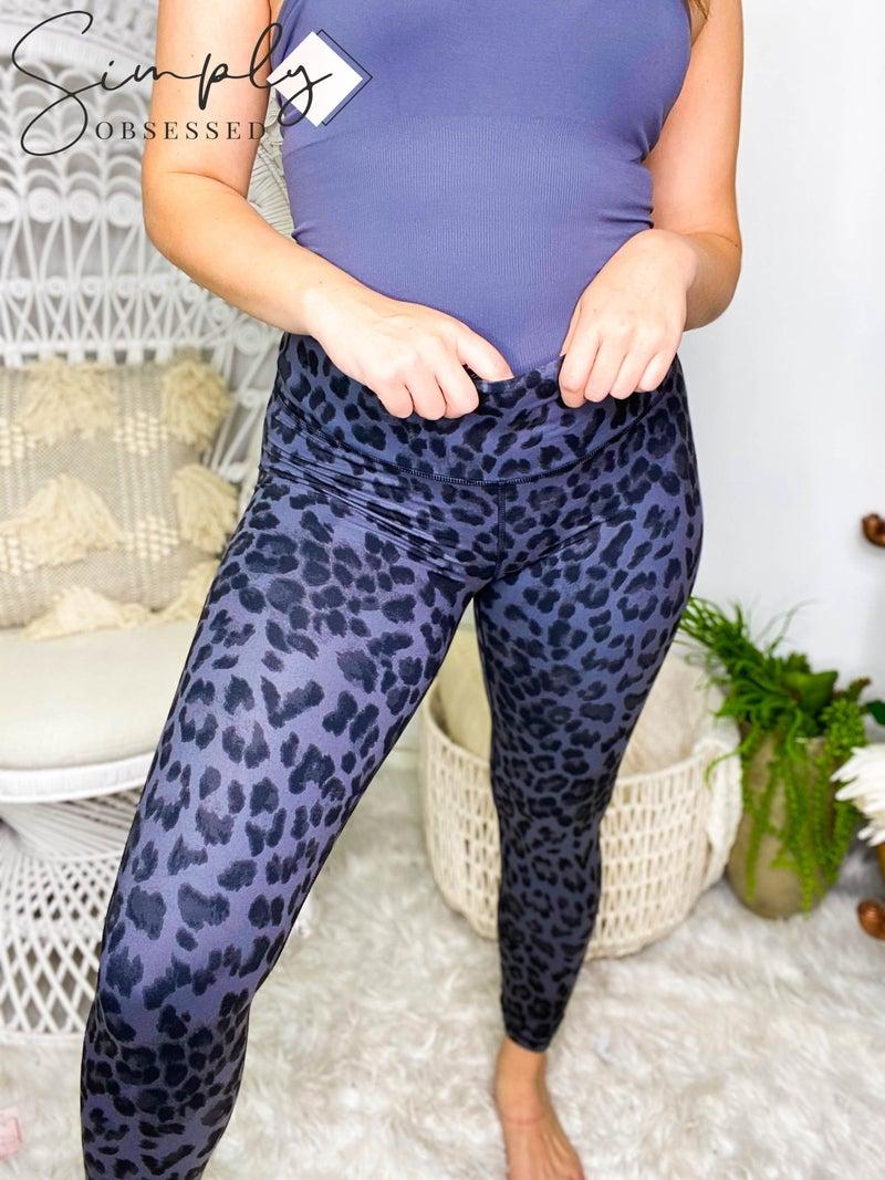 MADISON-Animal Digital Print Full length Yoga Pants.