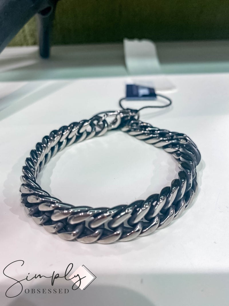Atlanta Mad Man First Dibs Sale - Striker Link Cuff Silver