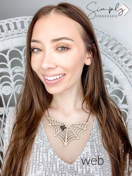 FAIRE - Wooden Halloween Necklaces