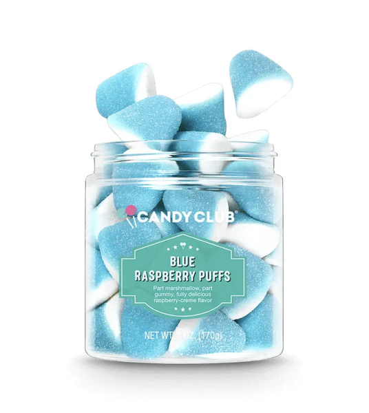 Candy Club Blue Raspberry Puffs