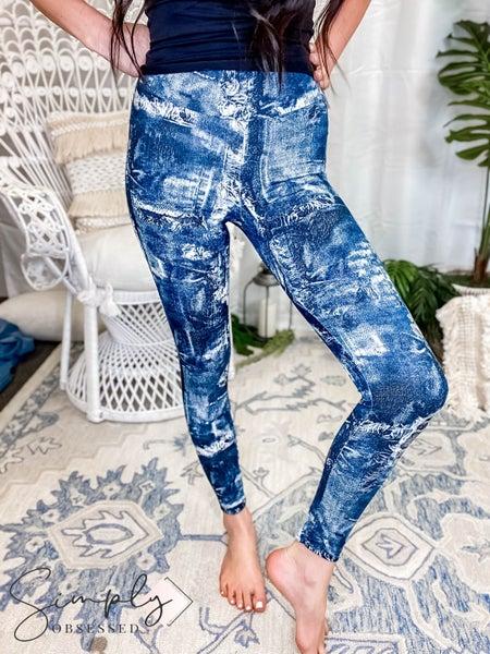 Orlando White Birch Pre-Sale - Tie dye knit leggings(All Sizes)