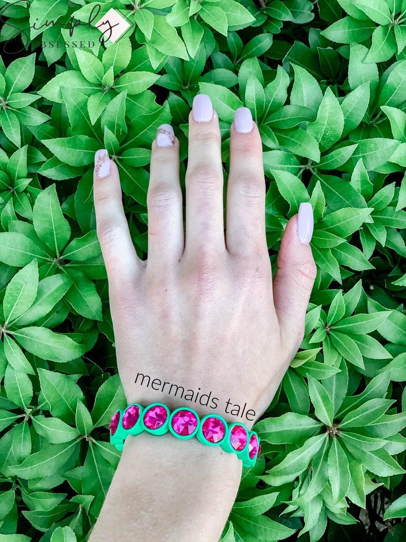NYJ - Mini Stretch Gem Bracelet