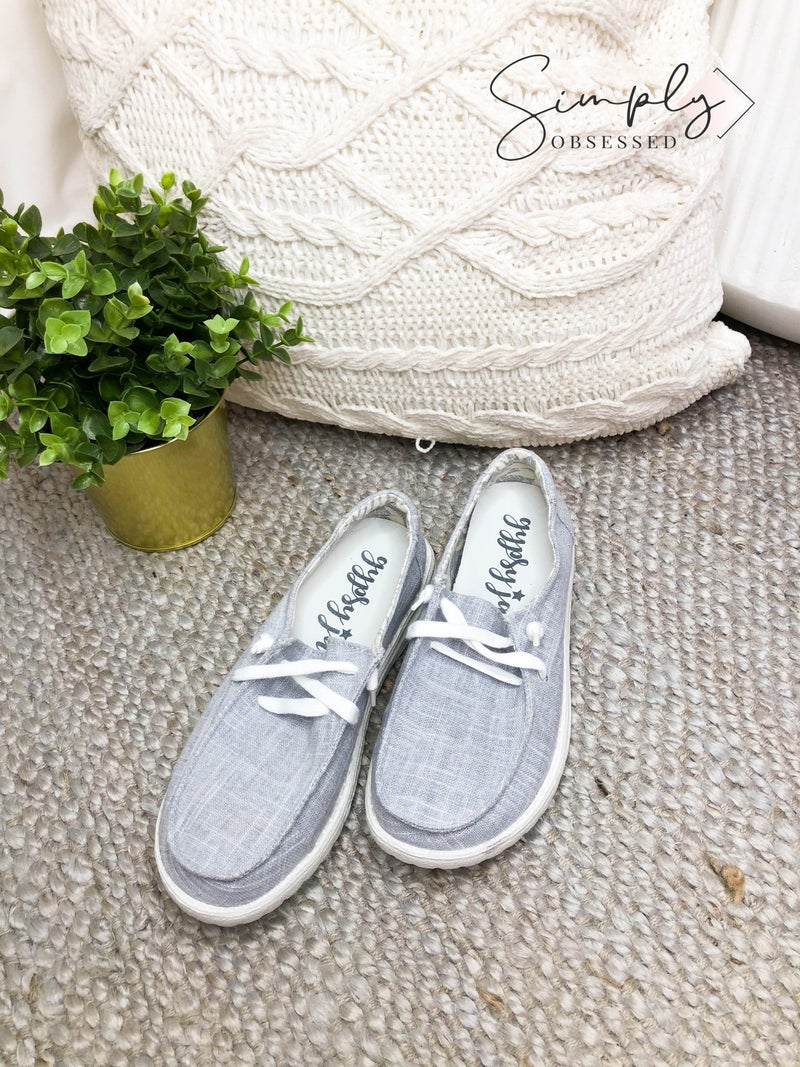 Gypsy Jazz - Laced slip on sneakers