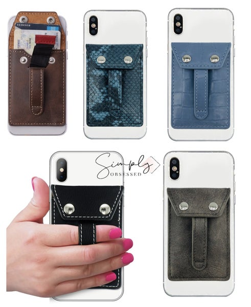 Phone Flipper - Wallet phone grip
