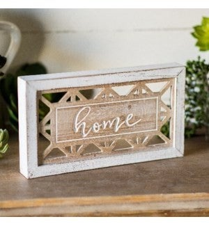 VIP ATL - Carved Wood Antique Home Frame