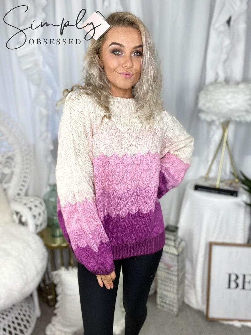 Listicle- MUlti color pullover sweater (100% acrylic)