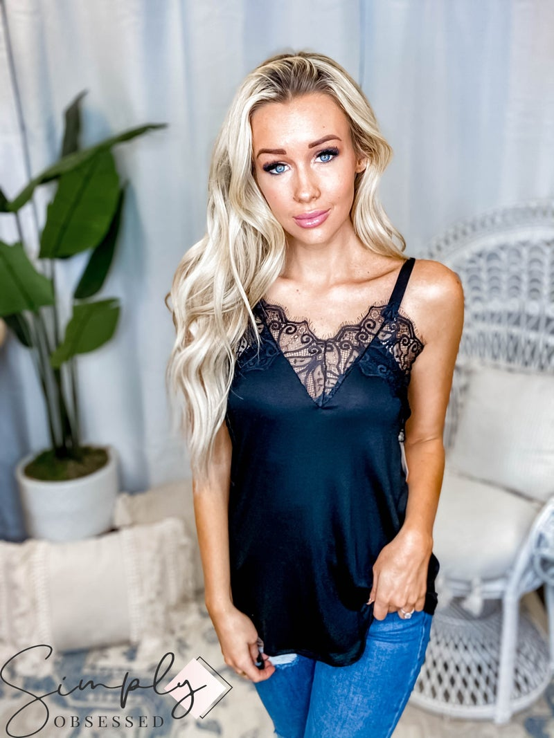 Blumin - Sleeveless lace top(All Sizes)