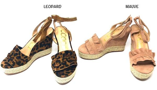 ccocci - Open toe wedge heels