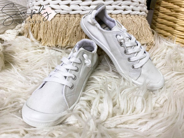 Gypsy Jazz - Lace detail tie up sneakers
