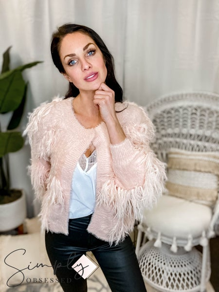 See & Be Seen - Fringe Sweater Cardigan