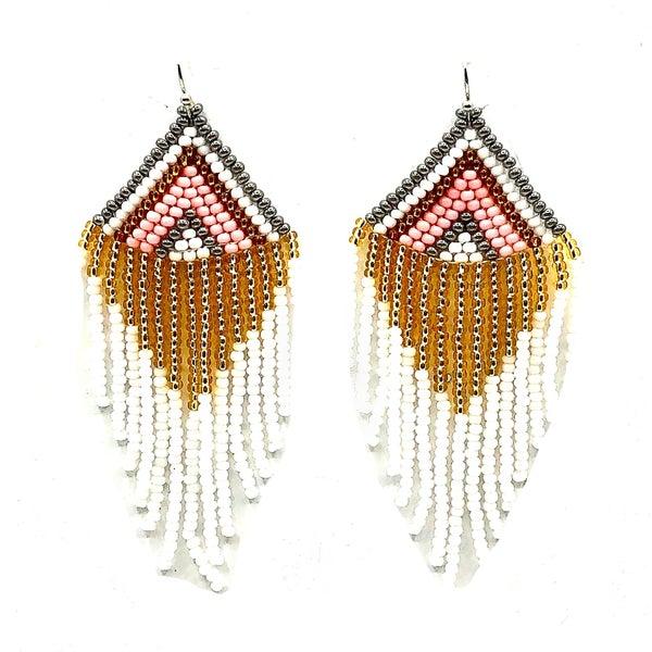 FOSTERIE - Cavier Beaded Earrings