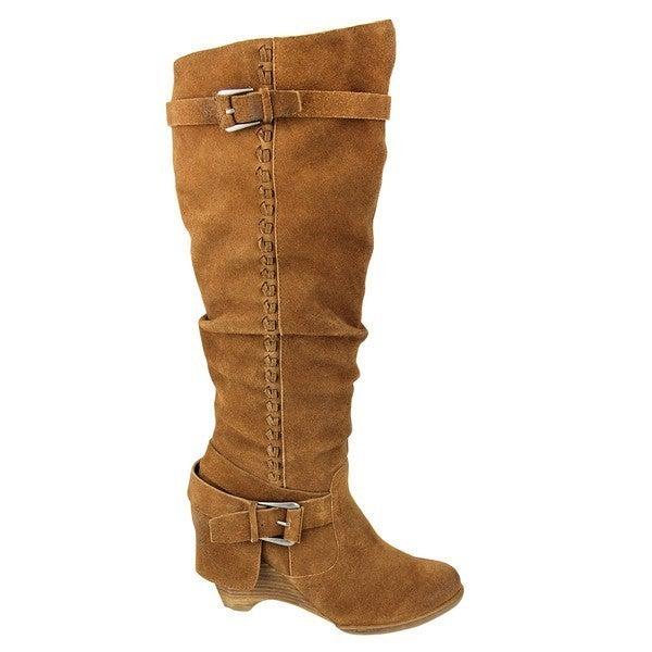 Naughty Monkey - Knee High Boot with Heel