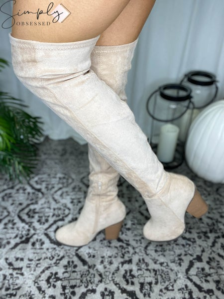 Ccocci - Suede Knee High Boots