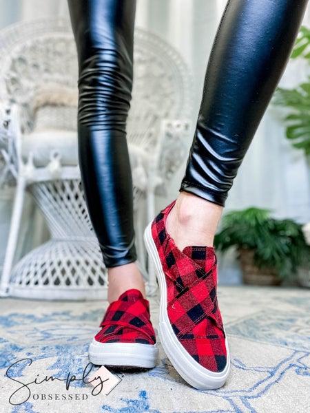 Gypsy Jazz - Velcro slip on sneaker