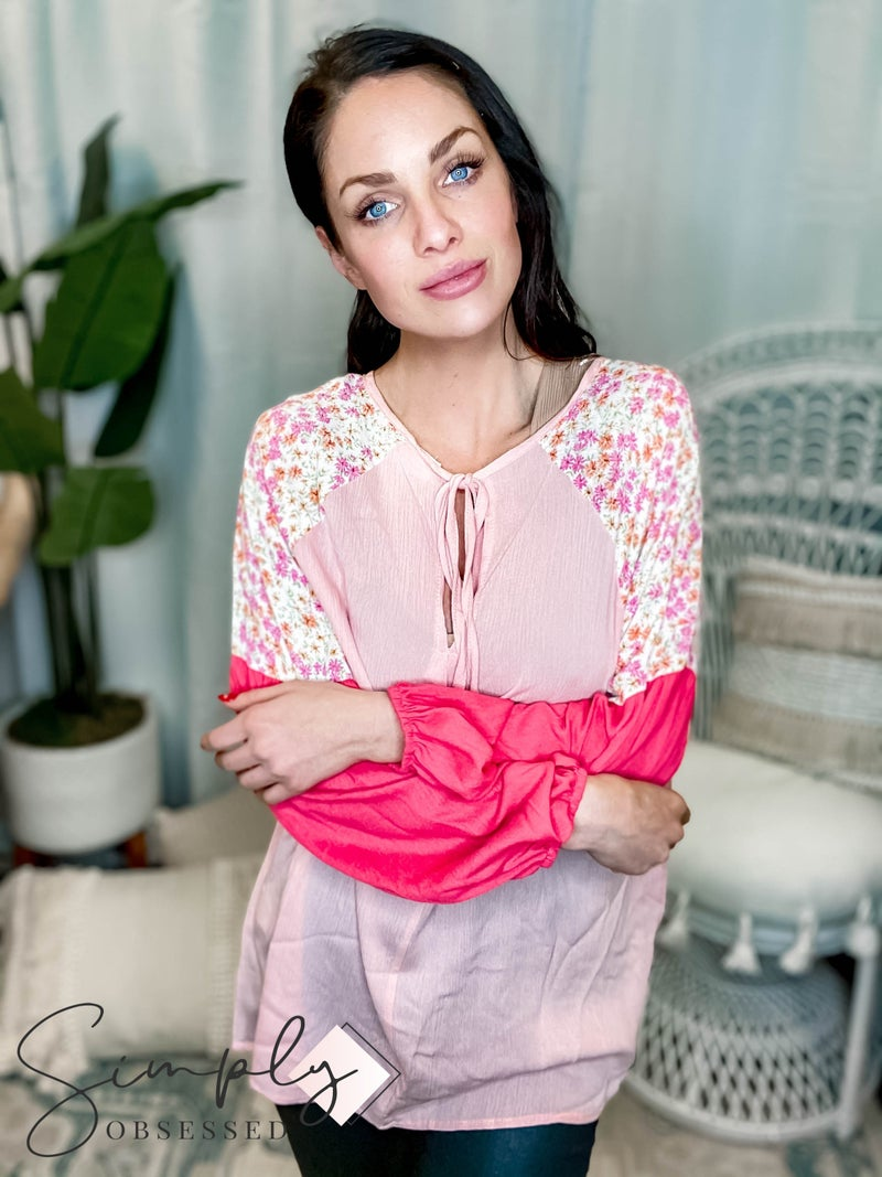 143 Story - Blossom Woven Blouse