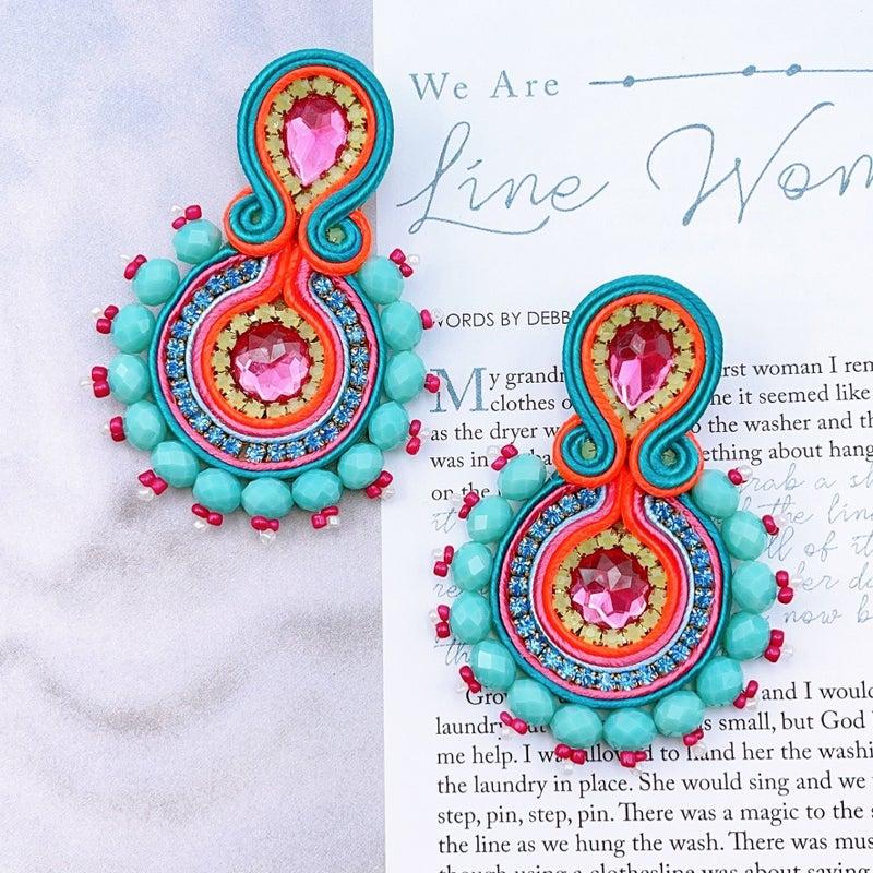 Treasure Jewels - Guay Turquoise Earrings