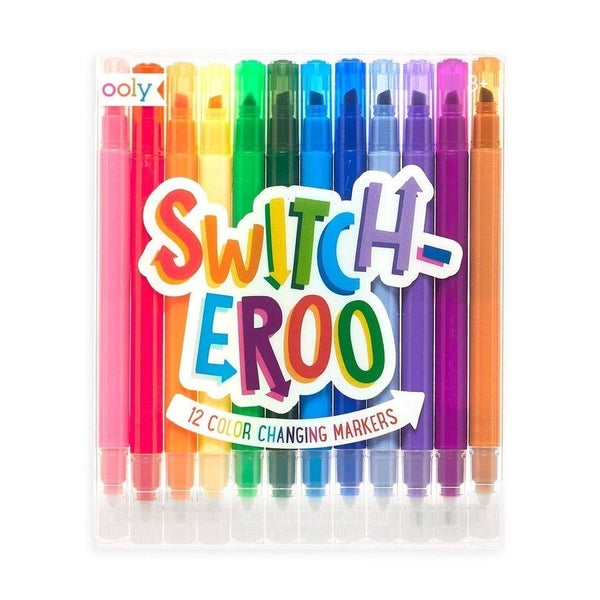 FAIRE-SWITCH-EROO! COLOR CHANGING MARKERS