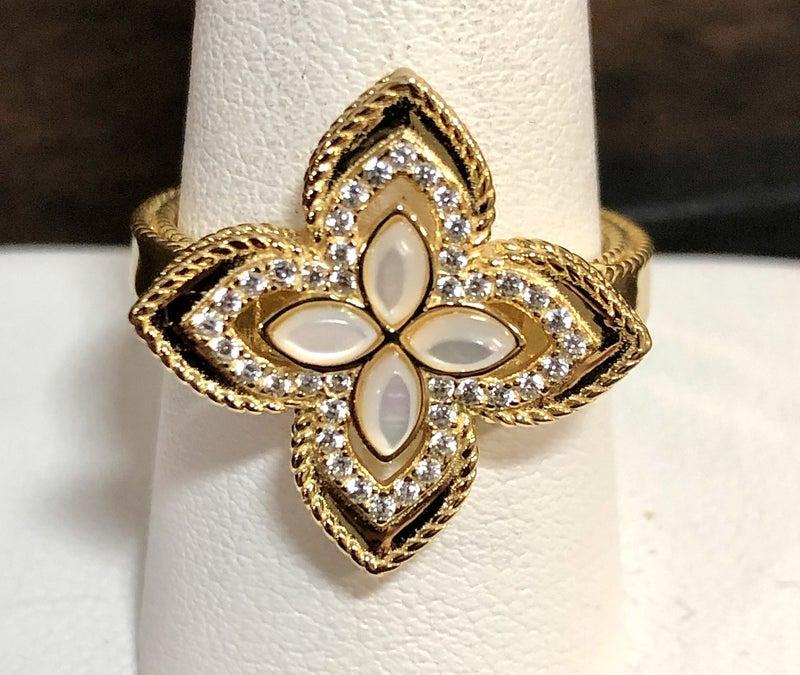 NYJ - Flower Opal Ring