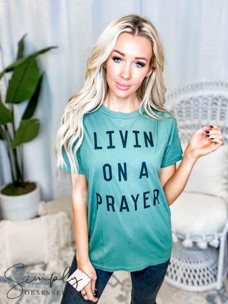 The Light Blonde - Livin On A Prayer(All Sizes)
