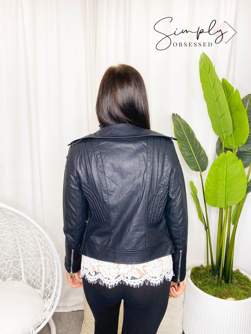 LA Coalition - Vegan leather jacket