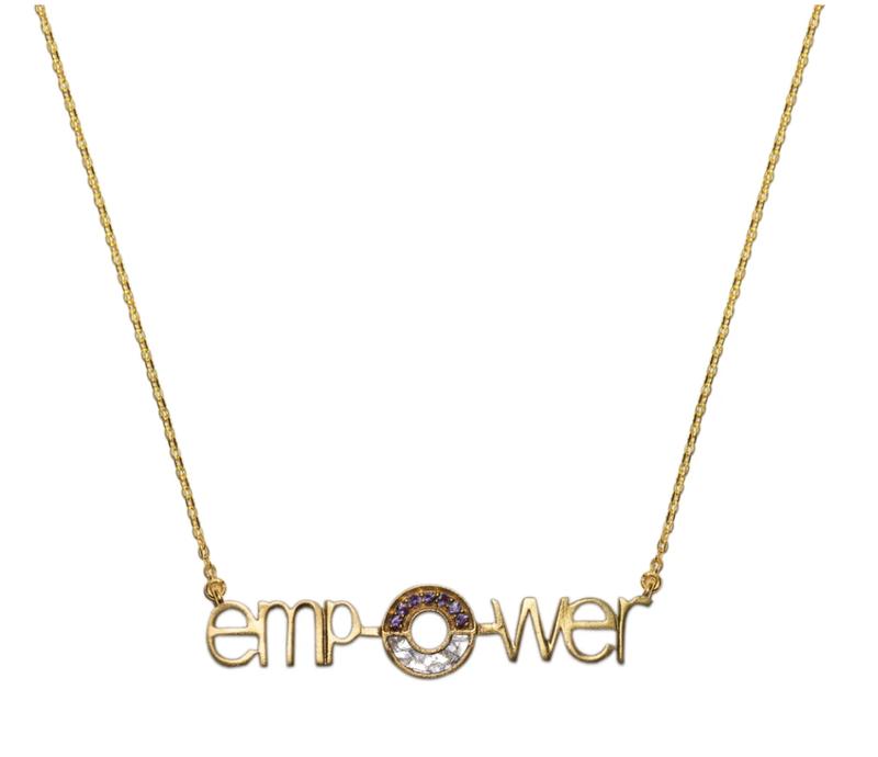 Gulati - Empower Real Diamond Pendant Necklace