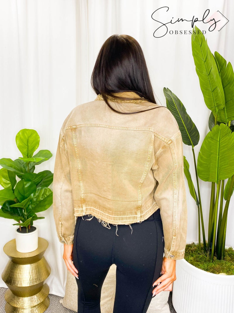 Vervet - Oversized Crop Jacket