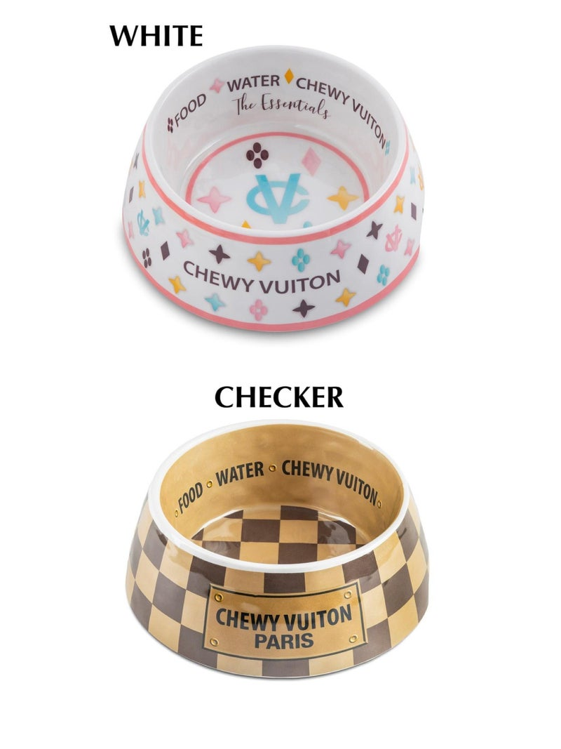 Haute Diggity Dog - Chewy Vuiton Bowl