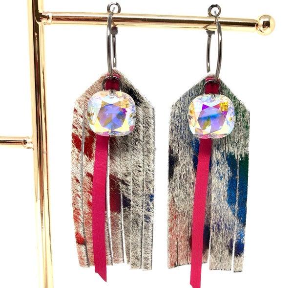 Unicorn Fringe Earrings