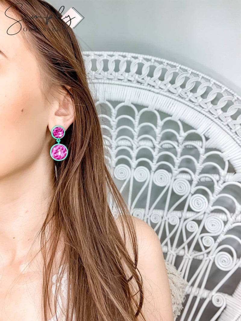 NYJ - Statement Gem Earrings