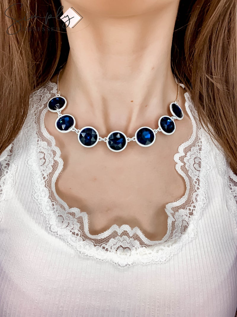 NYJ - Statement Gem Necklace