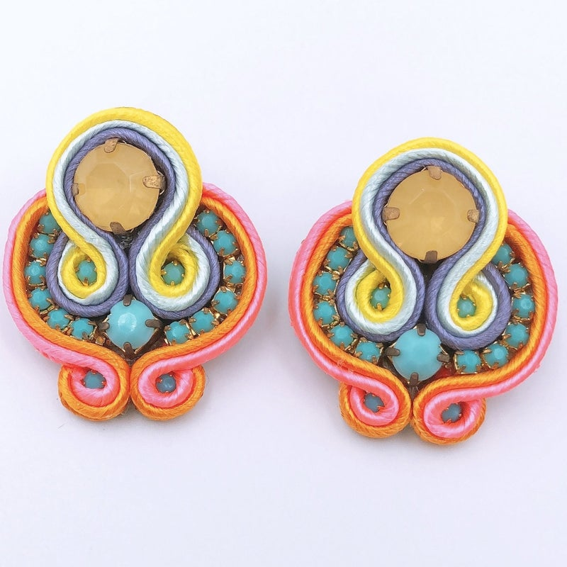 Treasure Jewels - Jenna Neon Earrings