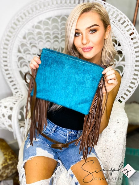 American Darling - Tassel detail cross body bag