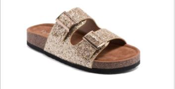 Refresh - Glitter detail strap sandals