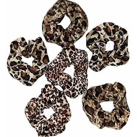 Joia Accessories - Leopard Scrunchies Double Pack