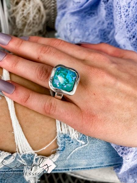 Vidda - Silver Caramel Gem Ring