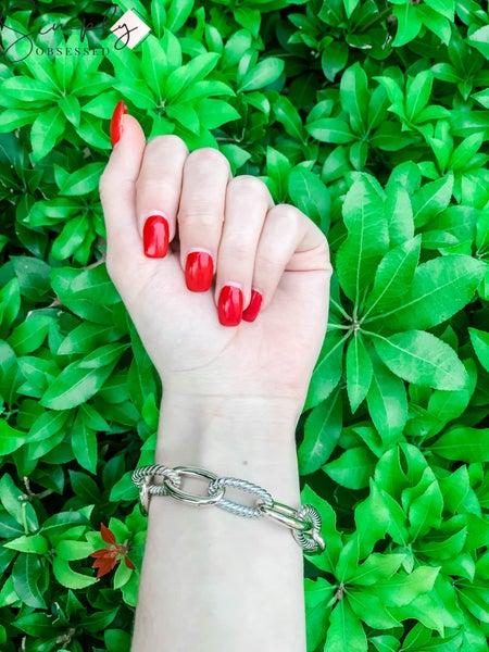 NYJ - Trace Chain Toggle Bracelet