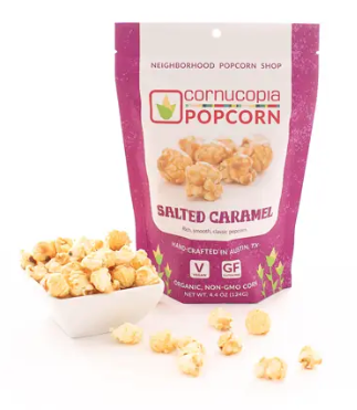 Cornucopia Popcorn - Flavored popcorn