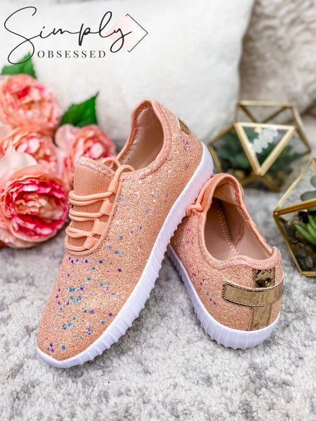 Forever Link - Glitter low top sneakers