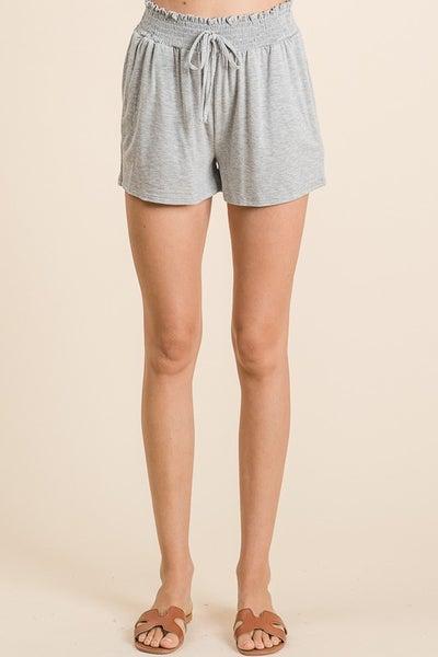 Vanilla Bay - Lounge wear elastic waist band soft shorts