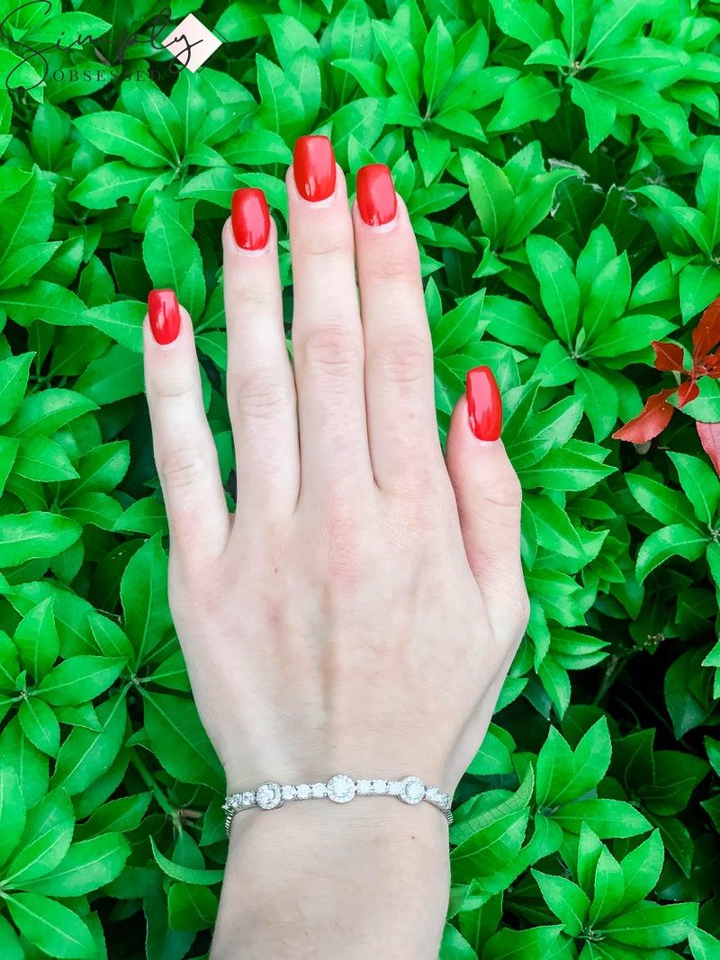 NYJ - Halo w/ Rhinestones Adjustable Bracelet