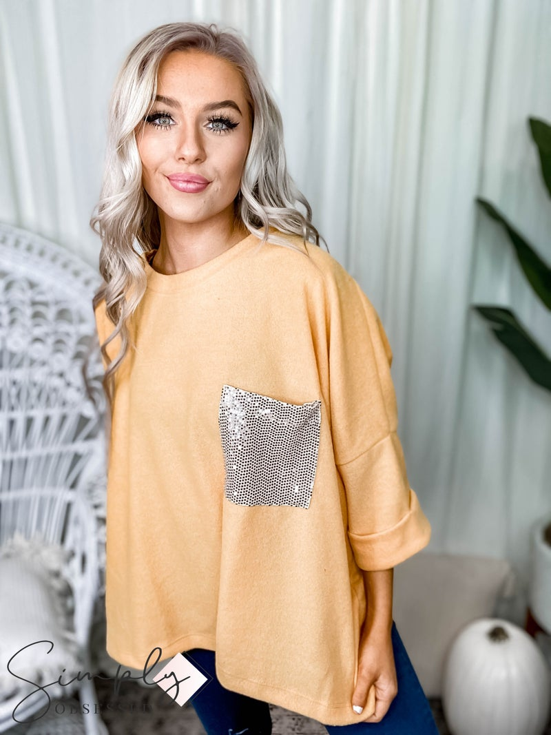White Birch - Short Sleeve Solid Knit Top