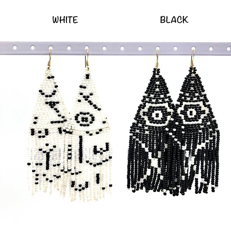NATIVO SOUL - Picasso Beaded Earrings