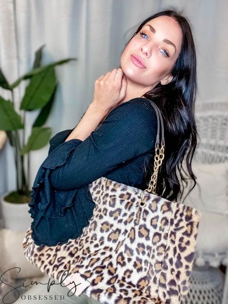 Julia Rose - Faux fur bag