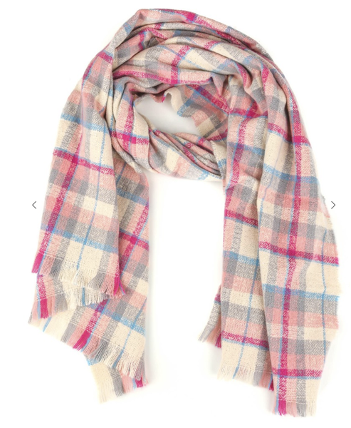 Fame Accessories - Plaid scarf