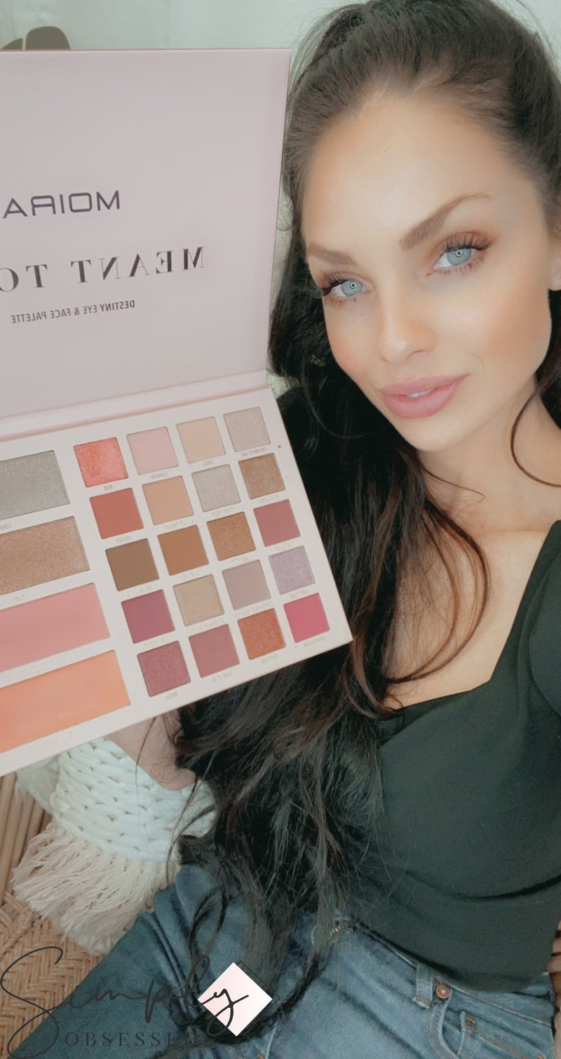 Moira-20 EYE SHADOW PALETTE WITH 4 COLOR FACE PALETTE