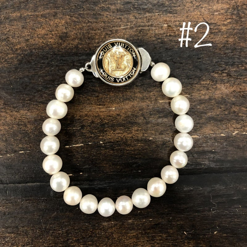 BJB - LV Gold Single Strand Bracelet