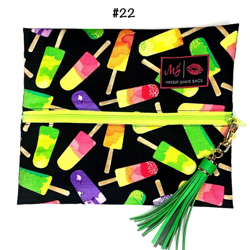Makeup Junkie - Turn key bags (Small)